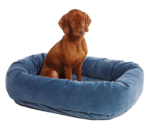 Microvelvet Donut Dog Bed: $79.95