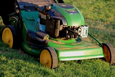 Mow weekly to keep the lawn at a manageable height.