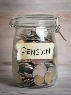 Large pension savings
