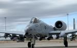 An A-10 Warthog bomber jet