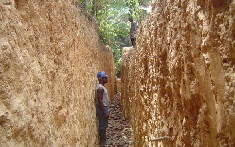 Enchi Gold Project site