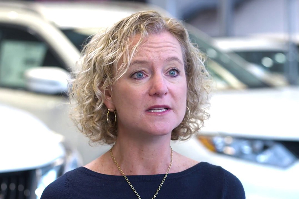 Liza Borches, president and CEO of Virginia-based Carter Myers Automotive