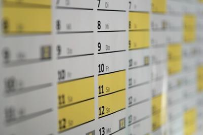 Medium calendar(1000)