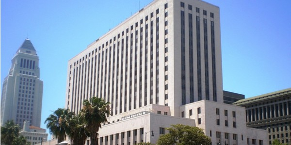 Large court house los angeles