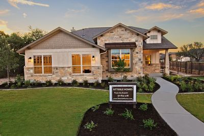 MAIN PHOTO: At Rancho Sienna's Chill Out Grill, from 1-4 p.m. on Sat., Sept. 16, visitors can tour two new fully furnished model homes, including the San Saba from Sitterle.