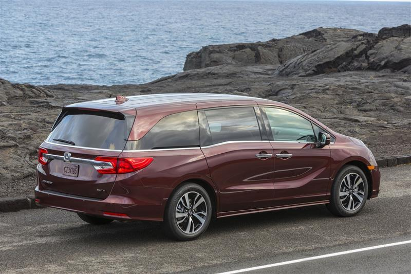The 2019 Honda Odyssey offers exciting technology features that families will surely love.