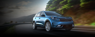 Kia crossover combines efficiency and power.