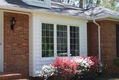 Casement windows both look good and provide convenient finctionality.