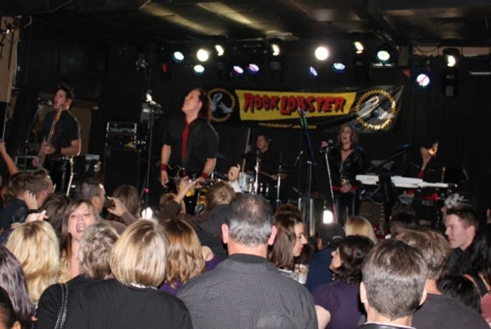 Rock Lobster, a 1980s cover band, is among the scheduled performers.