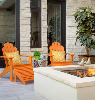 A well-decorated, warm and inviting porch can add a lot to the ambiance of a home.