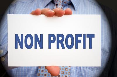 Medium nonprofit sign