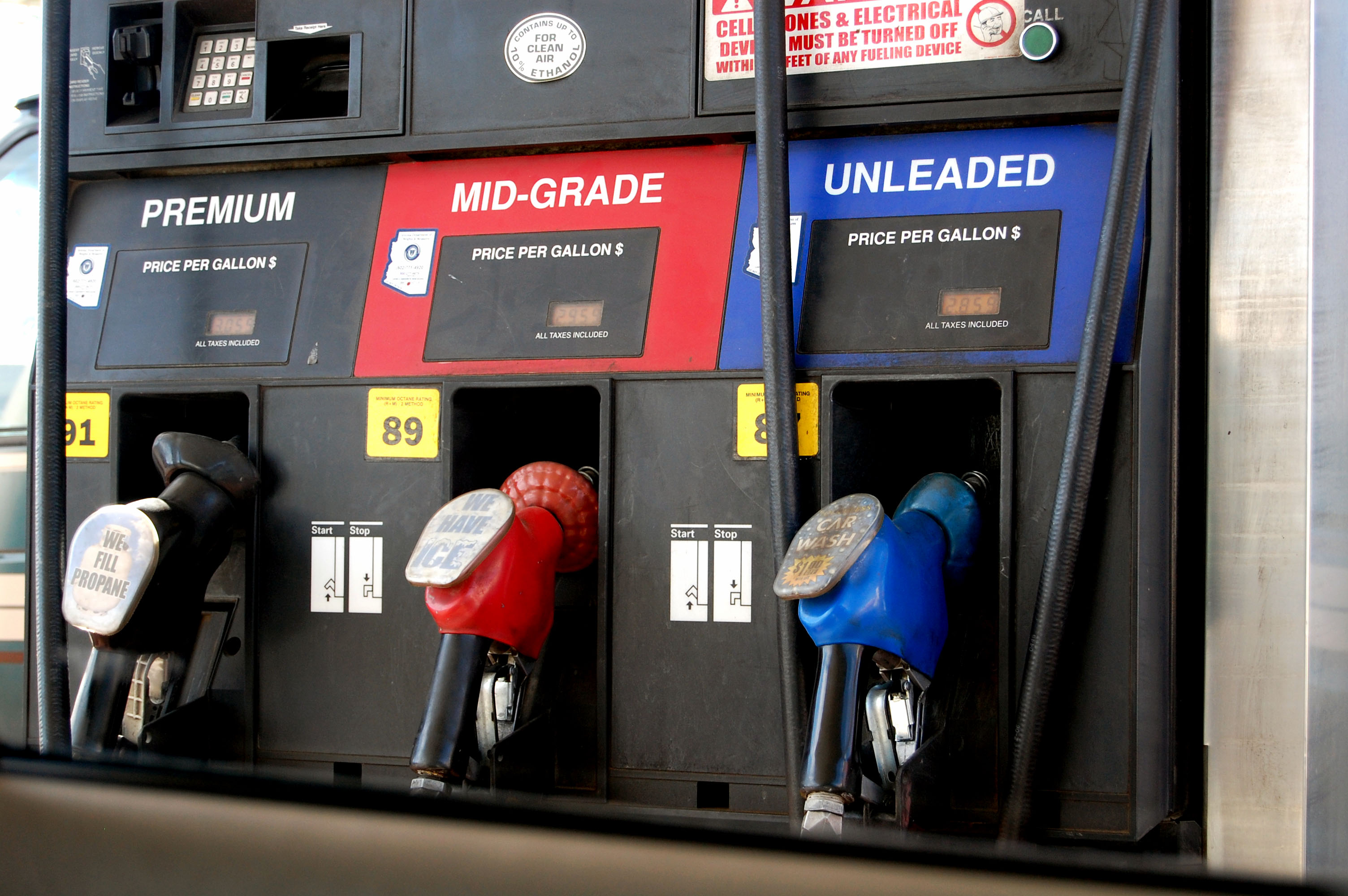 Illinois raised the tax on gasoline, effective July 1, to the displeasure of residents throughout the state.