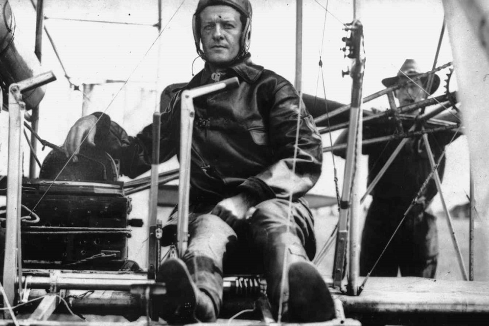Lt. Benjamin Foulois was guided by inventors Orville and Wilbur Wright.