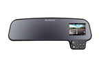 The Papago GS-260 is a rearview mirror/video camera combo loaded with extra features.