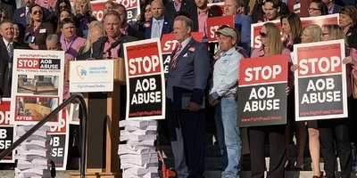 AOB reform proponents deliver 10,000 signed petitions to the state Capitol last week demanding Florida lawmakers take action