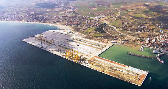 Asyaport will be Turkey's largest port specifically tailored to containers once it is completed.