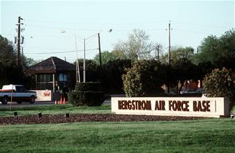 The former Bergstrom Air Force Base is now the home of the Austin-Bergstrom International Airport.