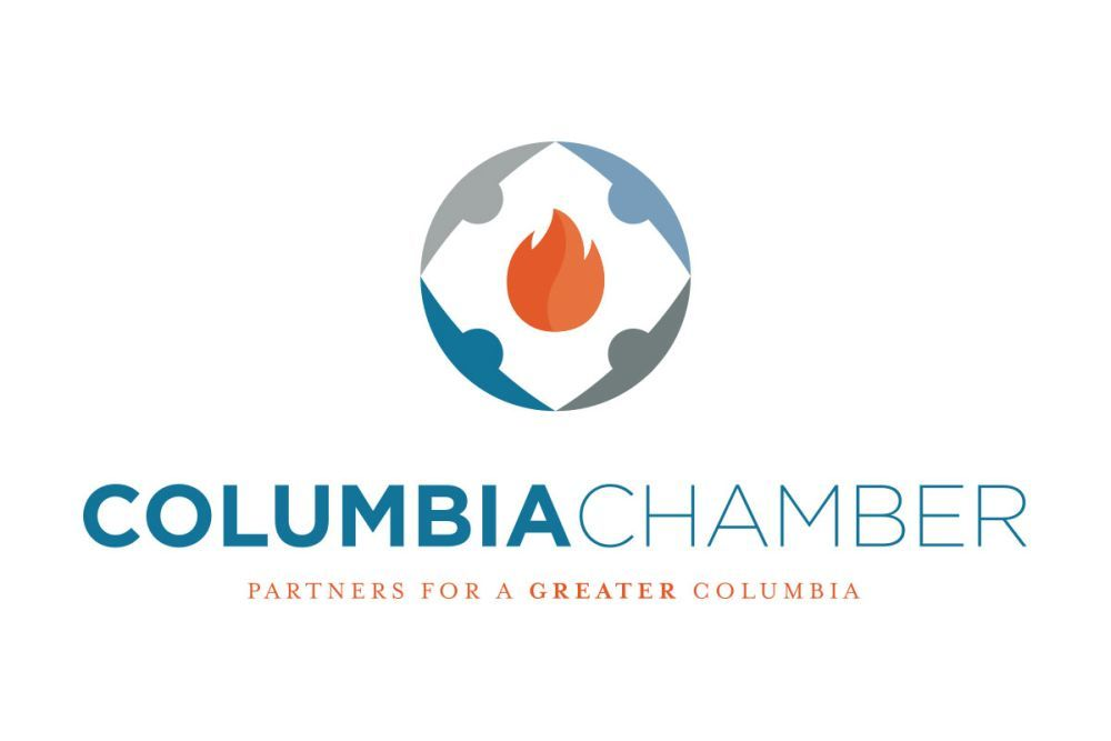 Henri Baskins has been named executive vice president of the Columbia Chamber.