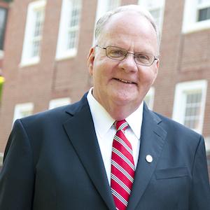 Former Illinois State University President Timothy J. Flanagan