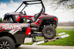 Mad-Ramps improves the safety and ease of loading ATVs.