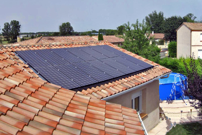 Solar panels are becoming more affordable for the home with government incentives.