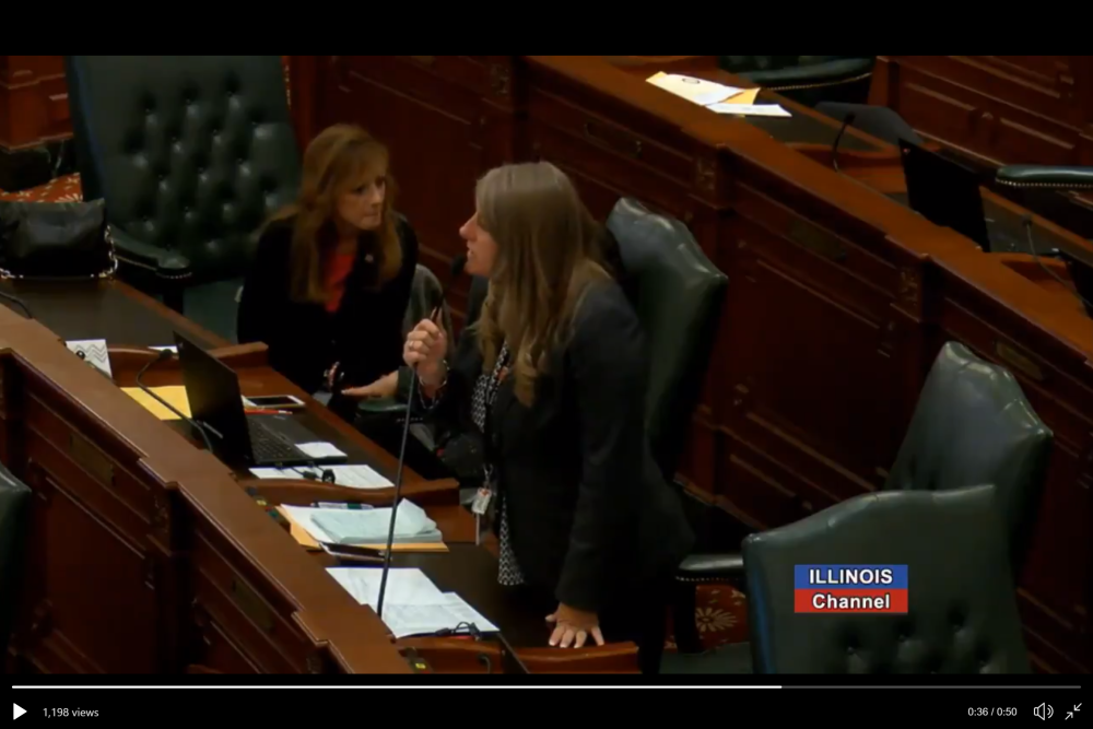 Rep. Stephanie Kifowit (D-Aurora) on house floor