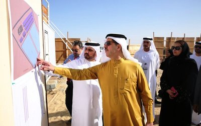 A DEWA leader recently checked in at a Solar Park water desalination plant.