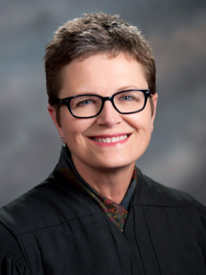 Justice Carol A. Beier of the Kansas Supreme Court