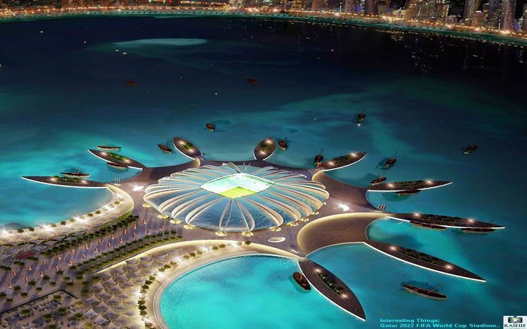 Proposed Qatar stadium