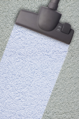 A clean carpet can make a whole room feel cleaner.