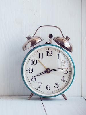 Daylight saving time begins at 2 a.m. Sunday.