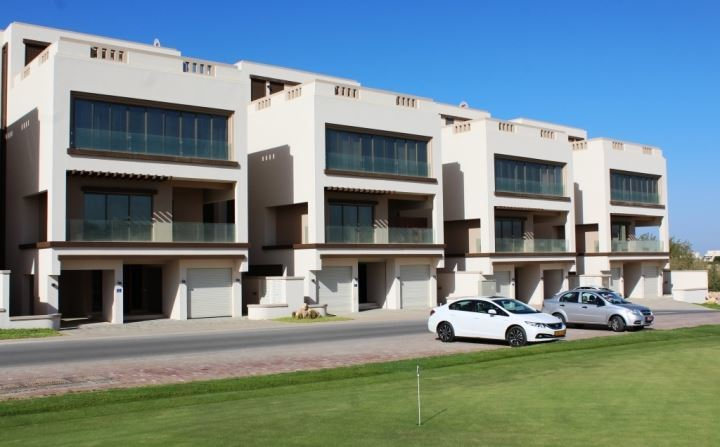 A four bedroom townhome is available in Muscat Hills.