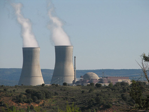 The Trillo Nuclear Power Plant in Spain.