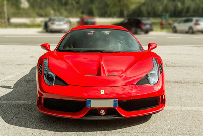 The aerodynamics of the 2016 Ferrari 488 GTB keep the car on the ground, with the feeling of limitlessness.
