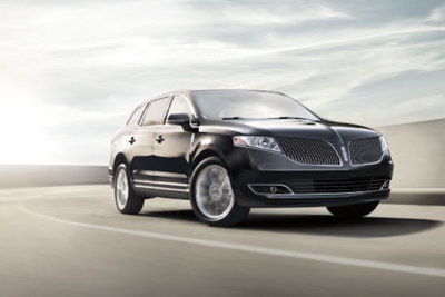 The Lincoln MKT has a can-do appearance.