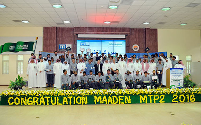 Saudi Arabian Mining Company announces graduation of 58 students from Jubail Technical Institute