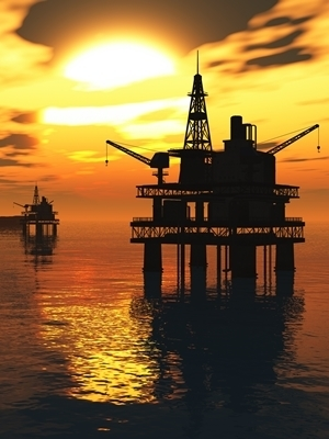 Large subsea well