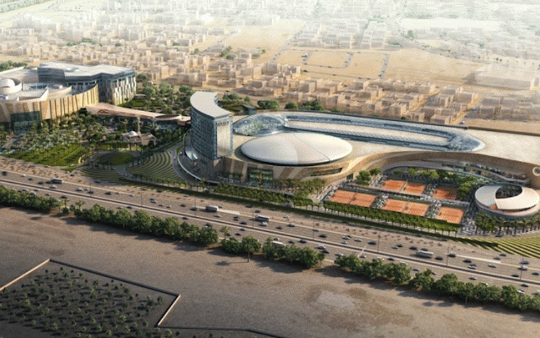 360 MALL expansion to include Kuwait's premiere tennis facility.