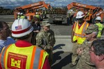 The U.S. Army Corps of Engineers has relieved the Department of Energy in Puerto Rico.