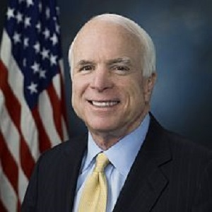 Sen. John McCain supports the recently passed Clay Suicide Prevention for American Veterans Act.