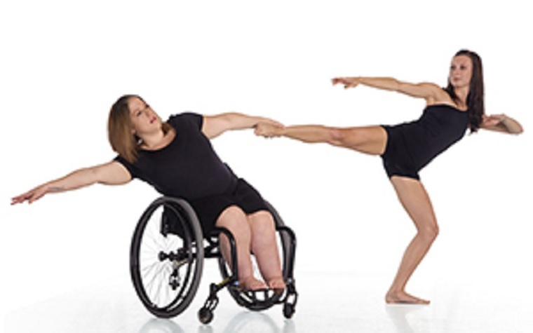 Dance Wheels integrates professional, physical dance for people with or without disabilities.