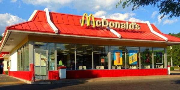 Large mcdonalds