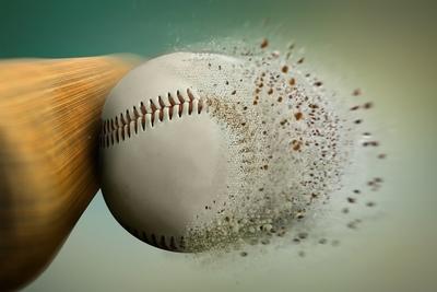 Medium baseball bat