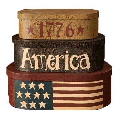 1776 Americana Nesting Boxes