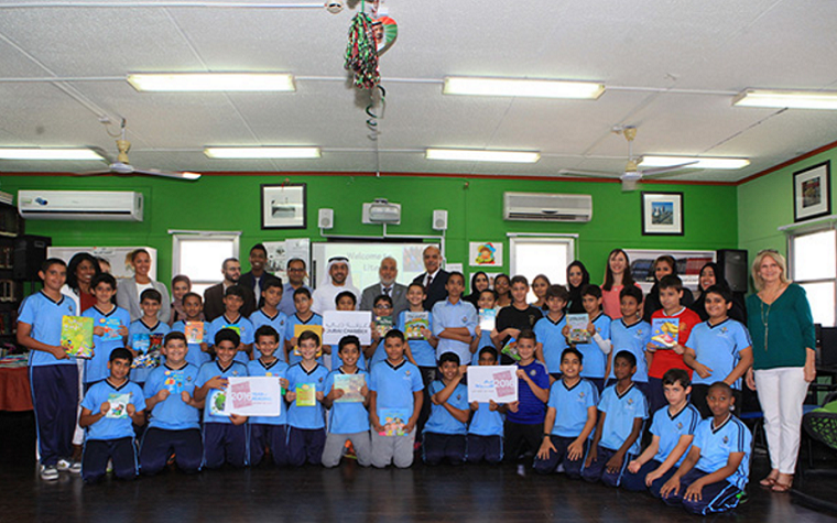 Dubai Chamber has joined forces with Action Care to promote the Year of Reading.