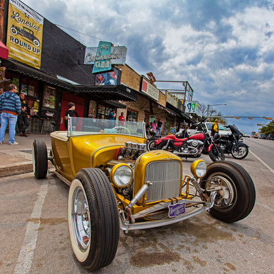 The official venue is at the Expo Center, but lots of great cars to be seen on South Congress Avenue and Sixth Street as well.