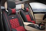 These seat covers are designed to actually make a car's interior look better.