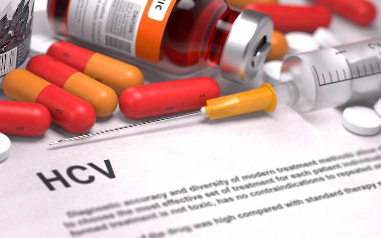 FDA approves new drug application for hepatitis C therapy.