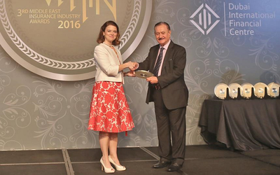 BIBF recognized at Middle East Insurance Industry Awards 2016