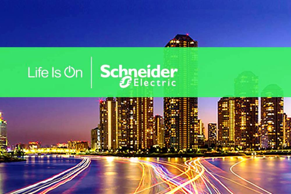 With over 144,000 employees and five international research and development sites, Schneider Electric specializes in energy management and automation.